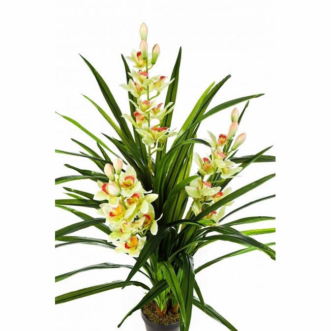 Plantas Artificiais - Orquídea Cymbidium   Darden   Importação, Produção e Comercialização de Plantas e Árvores Artificiais