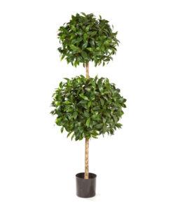 Darden | Importação, Produção e Comercialização de Plantas e Árvores Artificiais - Árvores Artificiais - Loureiro Bola Dupla
