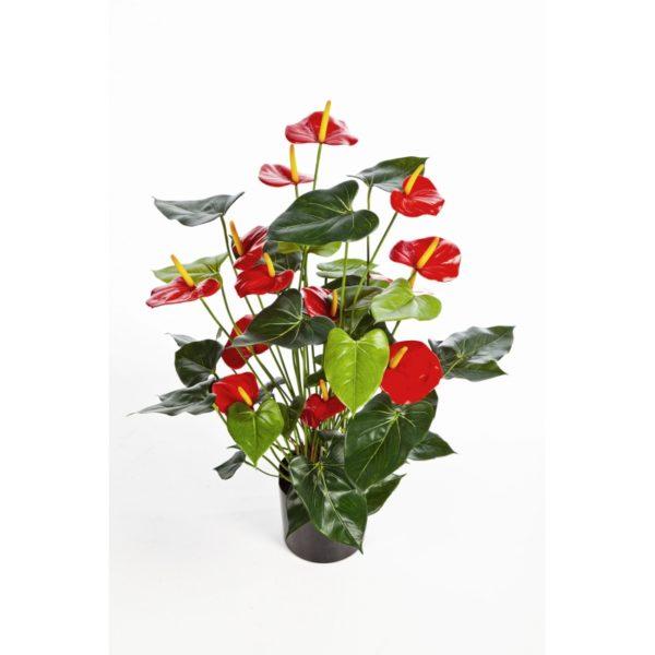 Plantas e Arvores Artificiais - Anturio| Darden | Importação, Produção e Comercialização de Plantas e Árvores Artificiais