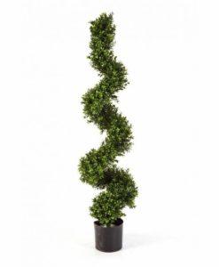 Plantas e Arvores Artificiais - Buxus Espiral | Darden | Importação, Produção e Comercialização de Plantas e Árvores Artificiais - Buxus