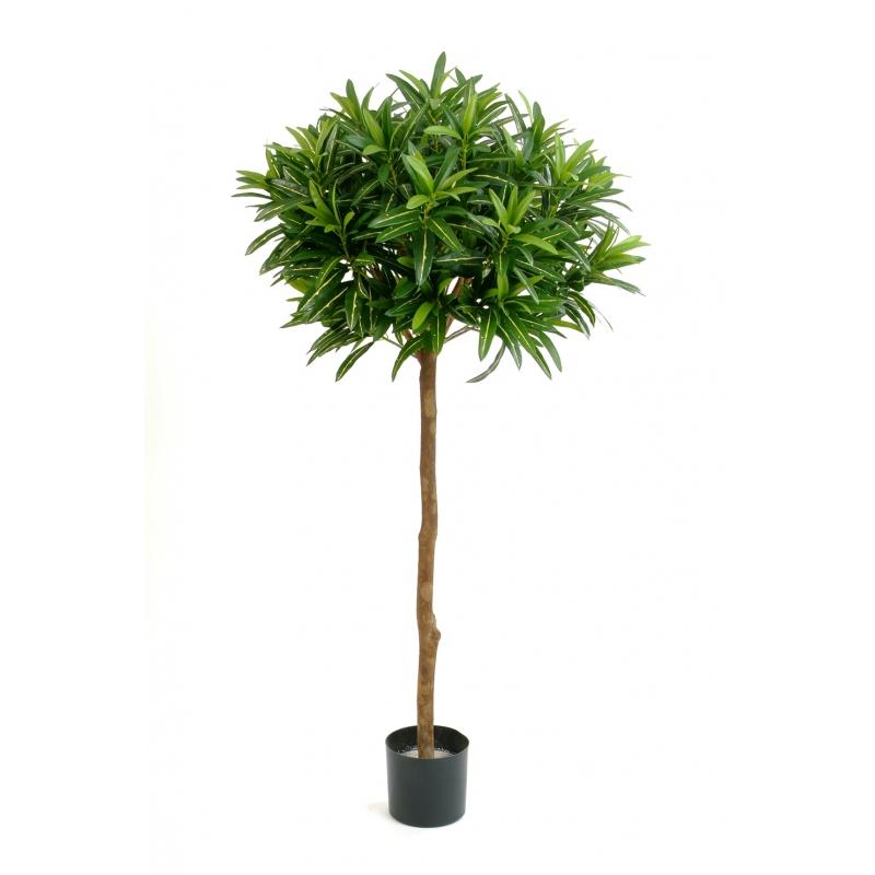 Arvores Artificiais - Croton Goldfinger Bola | Darden | Importação, Produção e Comercialização de Plantas e Árvores Artificiais