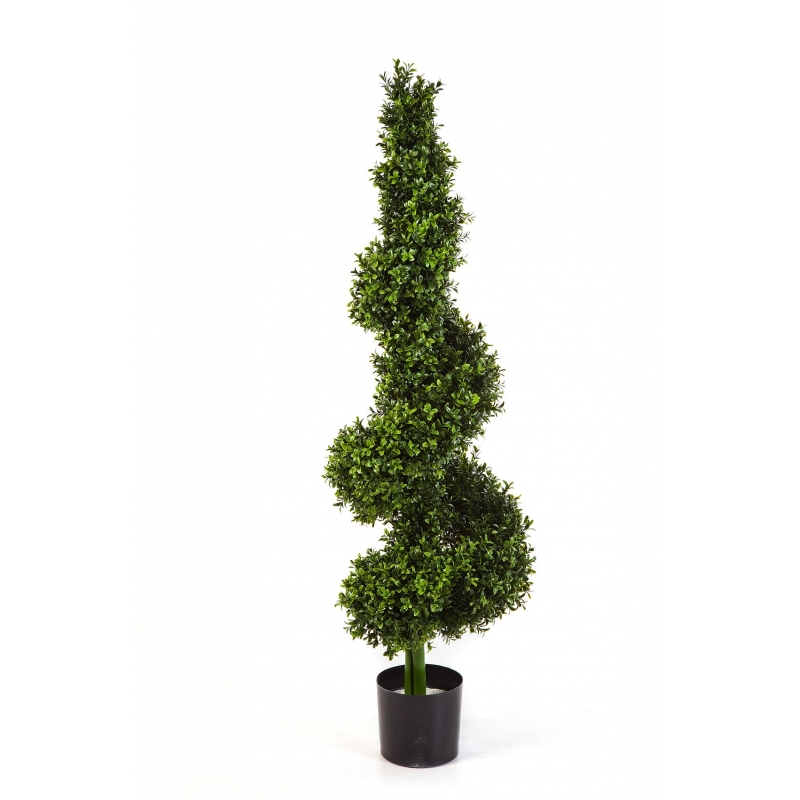 Plantas e Arvores Artificiais - Buxus Royal Espiral | Darden | Importação, Produção e Comercialização de Plantas e Árvores Artificiais - Buxus