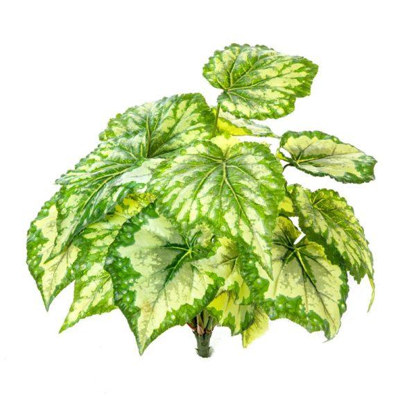 Plantas Artificiais - Wax Begónia | Darden | Importação, Produção e Comercialização de Plantas e Árvores Artificiais