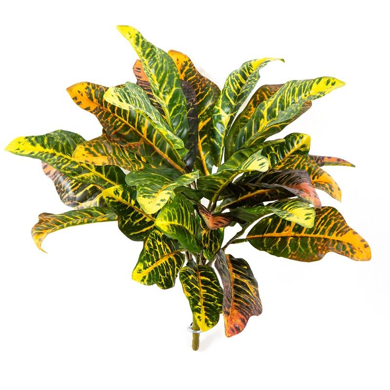 Plantas Artificiais - Croton   Darden   Importação, Produção e Comercialização de Plantas e Árvores Artificiais